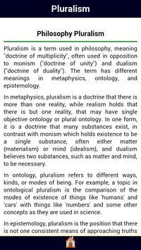 Pluralism apk screenshot