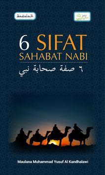 6 Sifat Sahabat Nabi poster