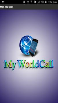 Myworldcall poster