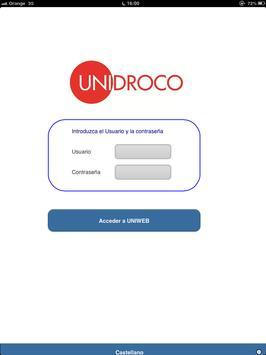 Uniweb apk screenshot