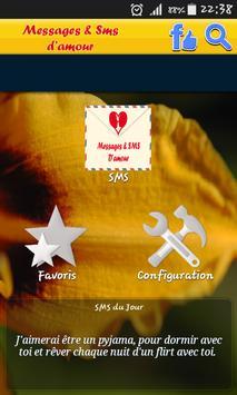 Messages SMS d'amour apk screenshot