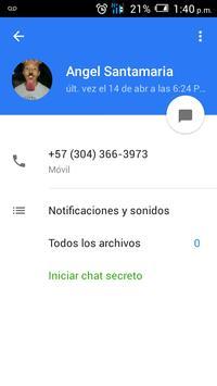 Messenger OLA apk screenshot