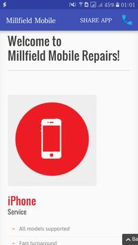 Millfield Mobile poster
