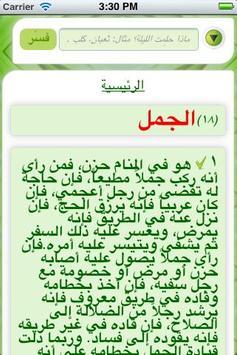 Islamic Dream Dictionary apk screenshot