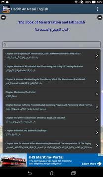 Hadith Sunan An Nasai English apk screenshot