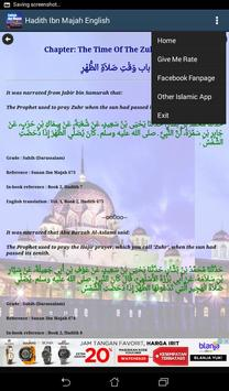 Hadith Sunan Ibn Majah English apk screenshot