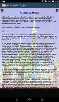 Hadith Sahih Muslim English apk screenshot