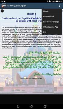 Hadith Qudsi English Translate apk screenshot