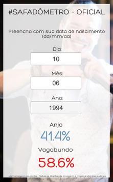 Safadômetro apk screenshot