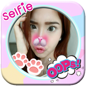 Cute Girl Selfie Photo Editor icon