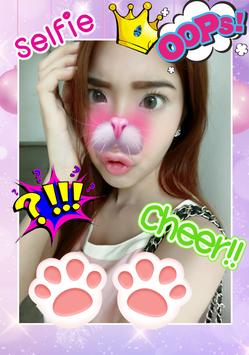Cute Girl Selfie Photo Editor apk screenshot