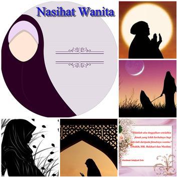 Nasehat Wanita Muslimah poster