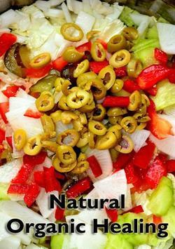Natural Organic Healing poster
