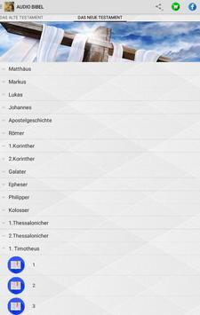 AUDIO BIBEL apk screenshot