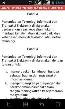 Undang - Undang ITE apk screenshot