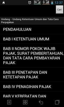 Ketentuan Umum Perpajakan apk screenshot