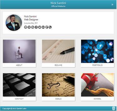 Nick Santini - Web Designer apk screenshot