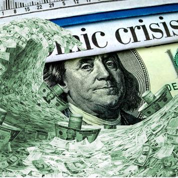 Истории экономического кризиса poster