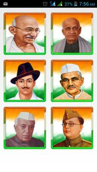 Indian Freedom Fighter poster
