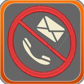 منع المكالمات والرسائل المزعجة icon