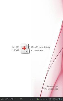 OHSAS 18001 Audit poster