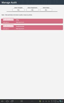 OHSAS 18001 Audit apk screenshot