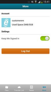 UnifiedDrive apk screenshot