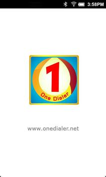 One Dialer poster