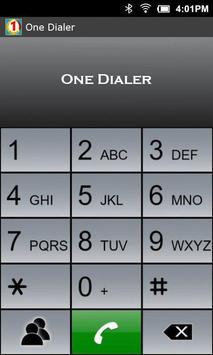 One Dialer apk screenshot