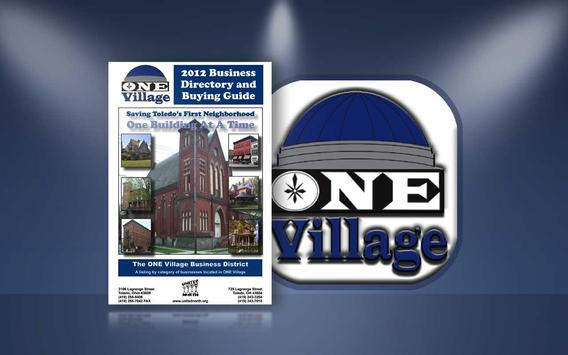 ONE Village Business Guide poster