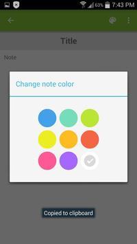 OneWindow Note apk screenshot