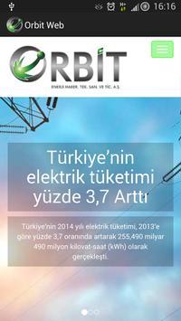 Orbit Enerji Web poster