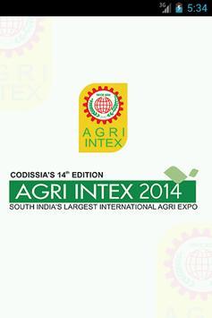 AGRI INTEX 2014 poster
