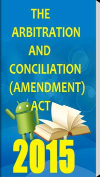 Arbitration & Conciliation Act poster