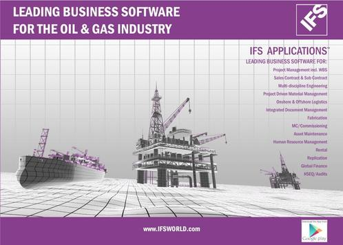 IFS for the Oil & Gas Industry apk screenshot