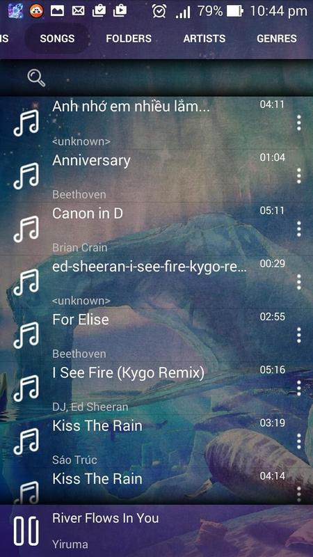 wav music player for android