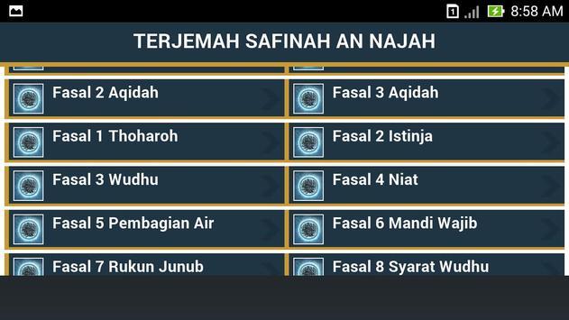 Safinatun Najah Terjemah apk screenshot