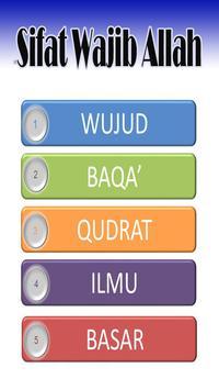 Sifat Wajib Allah poster