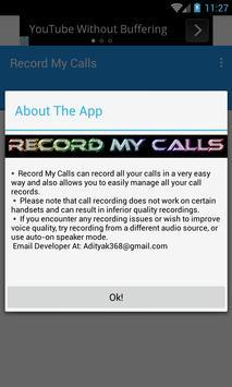 Record My Calls apk screenshot