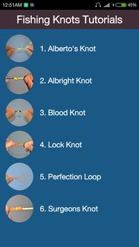 Best Fishing Knot Guide poster