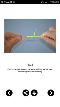 Best Fishing Knot Guide apk screenshot