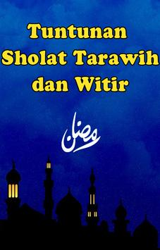 Tuntunan Solat Tarawih & Witir poster