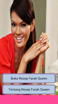 Resep Farah Queen poster