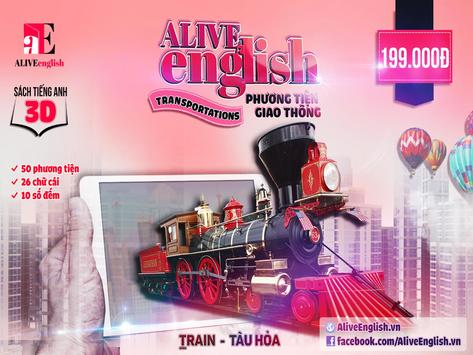 Alive English Transportations poster