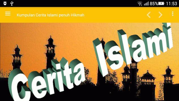 Cerita Islami penuh Hikmah poster