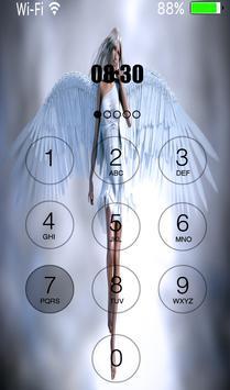 angel heaven lock screen apk screenshot