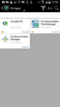 CA Mobile Device Management apk screenshot