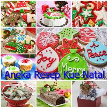 Aneka Resep Kue Natal Terbaru poster