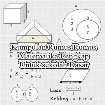 Kumpulan Rumus Matematika SD poster