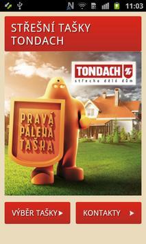TONDACH Střešní tašky poster
